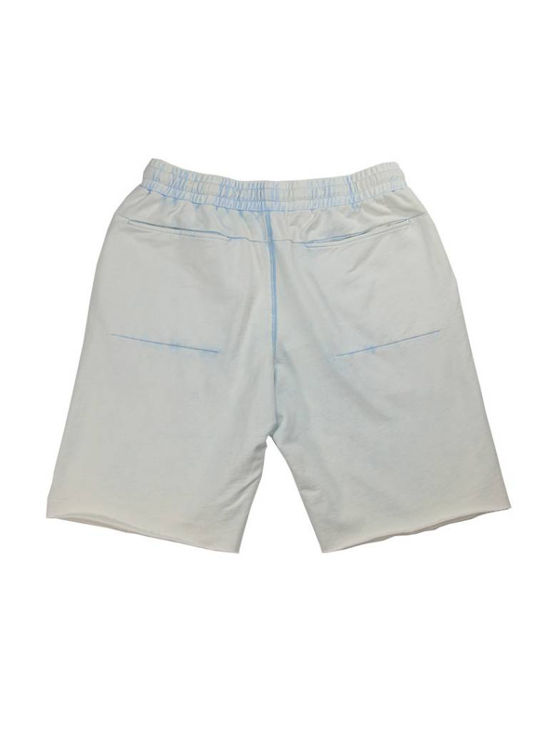 CROOKS & CASTLES ANGLER SWEATSHORTS FADED BLU