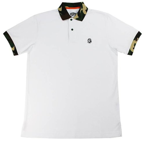 BILLIONAIRE BOYS CLUB BB POLOW SS POLO WHT