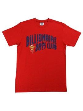 BILLIONAIRE BOYS CLUB BB ARCH ROCKET SS TEE RED