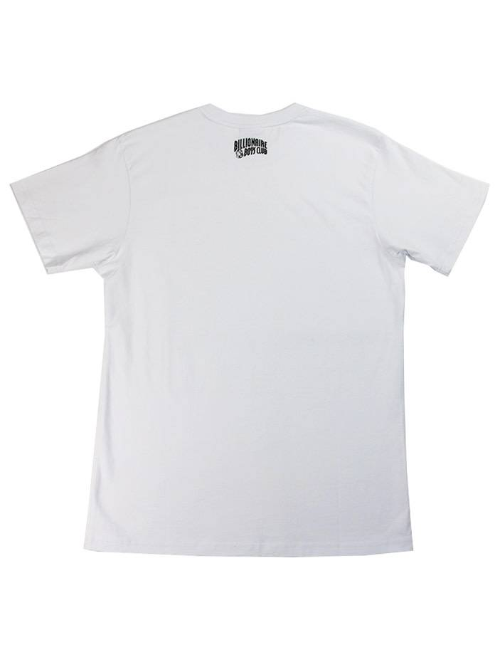 BILLIONAIRE BOYS CLUB BB SPACE BEACH SS TEE WHT