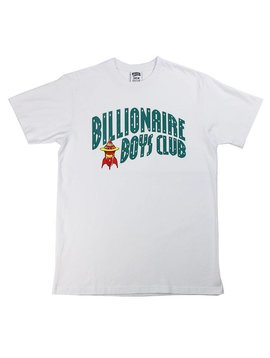 BILLIONAIRE BOYS CLUB BB ARCH ROCKET SS TEE WHT