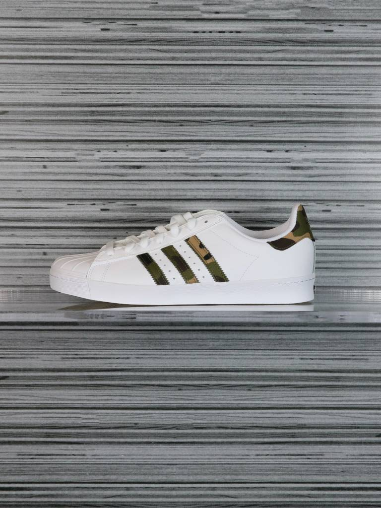 Cheap Adidas Superstar Vulc ADV White & Snake