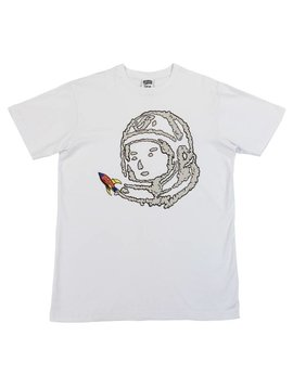 BILLIONAIRE BOYS CLUB BB SPACE RIDE SS TEE WHT