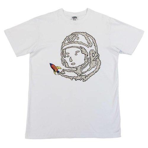 BILLIONAIRE BOYS CLUB BB SPACE RIDE SS TEE WHT