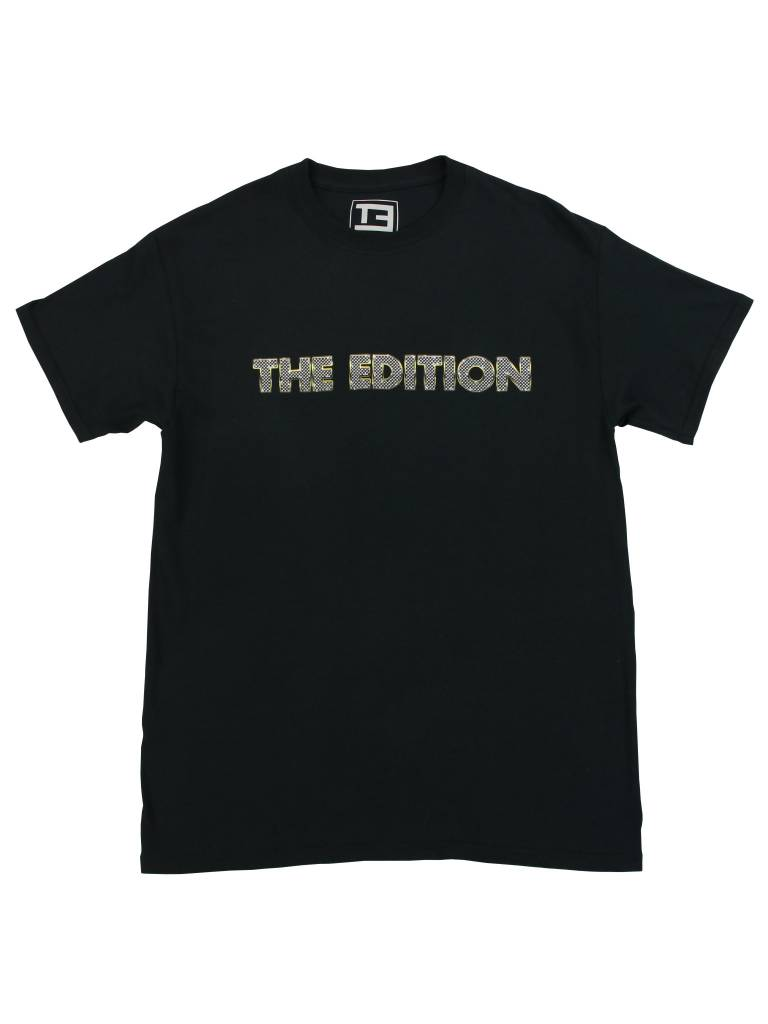 THE EDITION BLING TEE BLK