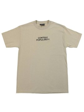 THE HUNDREDS CONTEST T-SHIRT SAND
