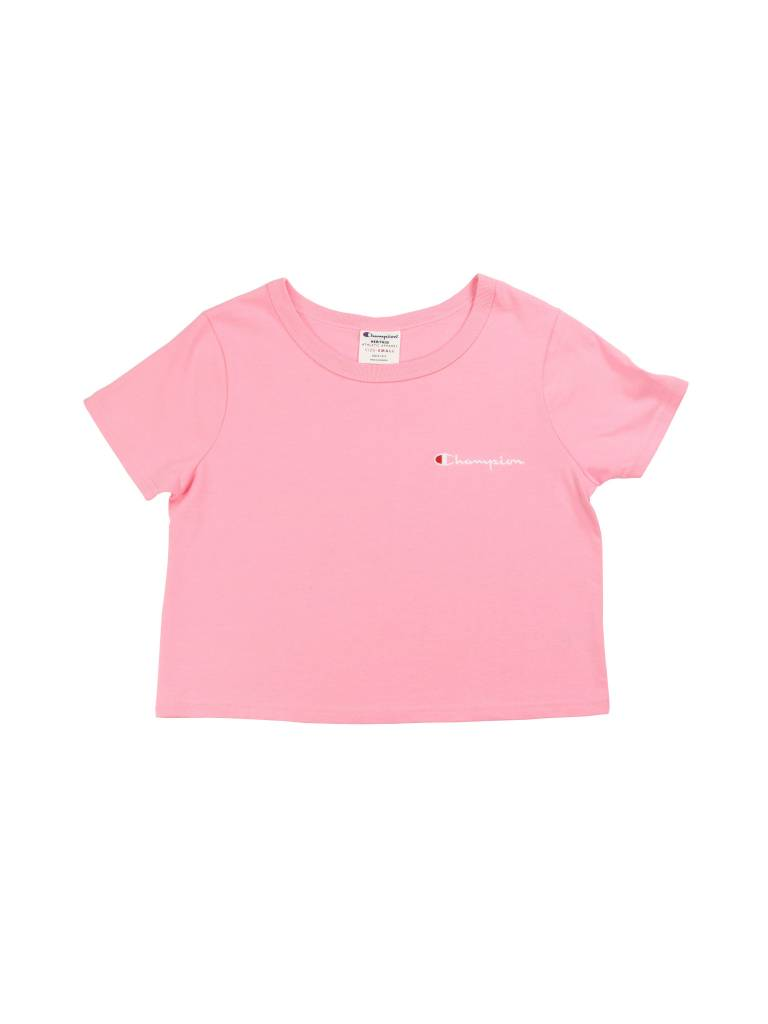 CHAMPION WMNS PINK COPPRED TEE