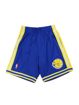 MITCHELL & NESS WARRIORS SWINGMAN SHORTS