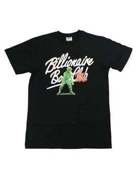 BILLIONAIRE BOYS CLUB BB ARMY SS TEE BLK