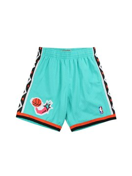MITCHELL & NESS WEST ALL STAR SHORTS TEAL