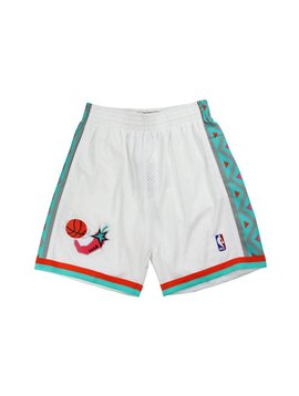 MITCHELL & NESS WEST ALL STAR SHORTS WHT