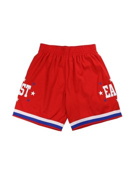 MITCHELL & NESS EAST SWINGMAN SHORTS RED