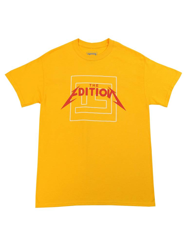 THE EDITION ON TOUR TEE GLD