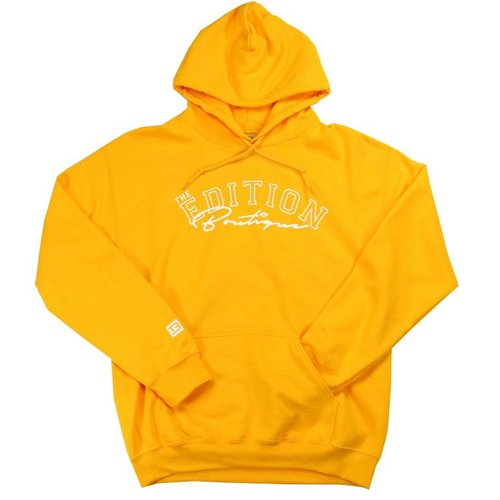 THE EDITION DISTORTED HOODIE YELLOW