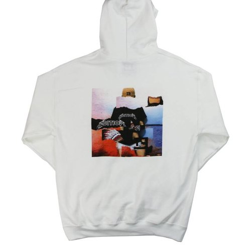 THE EDITION DISTORTED HOODIE WHT