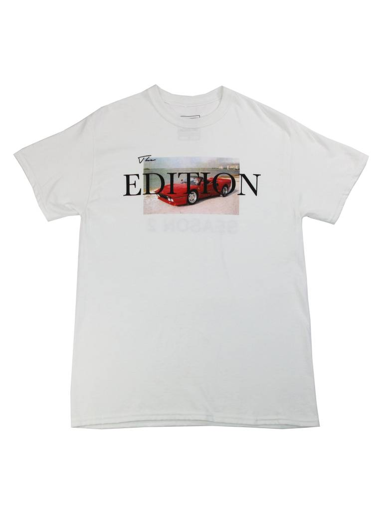 THE EDITION CAR MEETS SAND TEE WHT