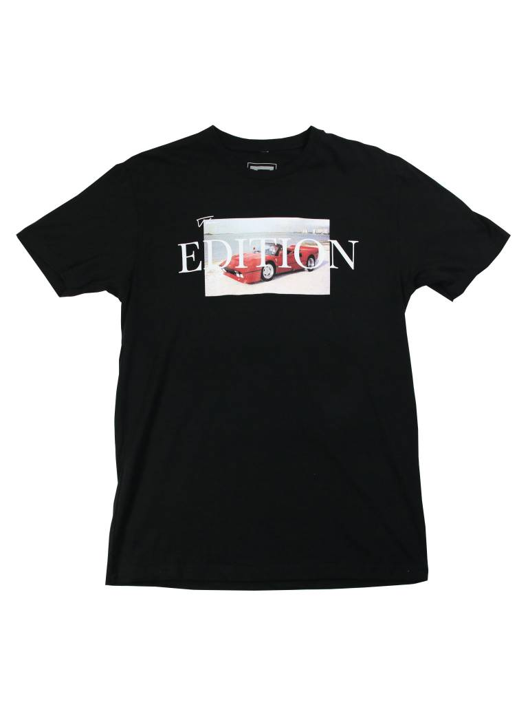 THE EDITION CAR MEETS SAND TEE BLK