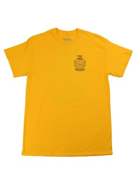 THE EDITION GLOBE TEE YELLOW