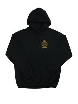 THE EDITION GLOBE HOODIE BLK