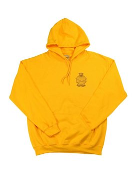 THE EDITION GLOBE HOODIE YELLOW