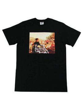 BILLIONAIRE BOYS CLUB BB MARKET FLOWER SS TEE BLK