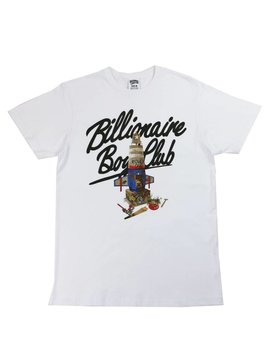 BILLIONAIRE BOYS CLUB BB ROVER ONE SS TEE WHT