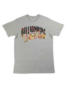 BILLIONAIRE BOYS CLUB BB FLORAL ARCH SS TEE GRY