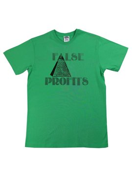 BILLIONAIRE BOYS CLUB BB FALSE PROFITS SS TEE MGRN