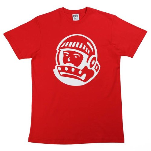 BILLIONAIRE BOYS CLUB BB HELMET SS TEE RED