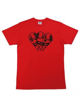 BILLIONAIRE BOYS CLUB BB SPACE CONES SS TEE RED