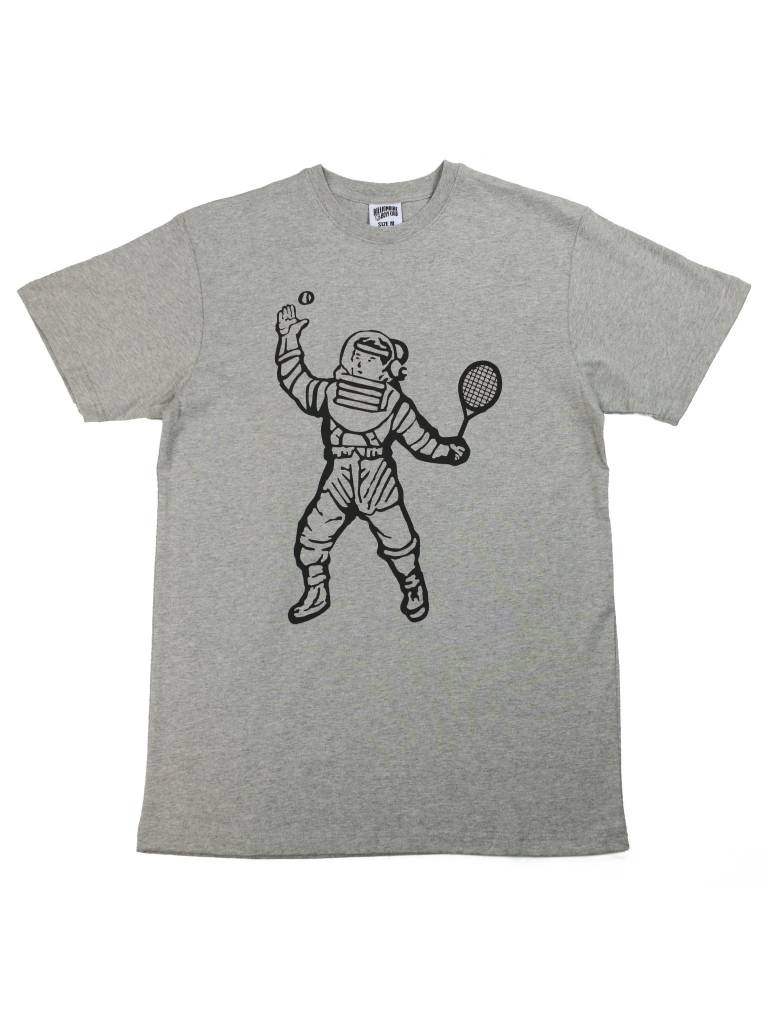 BILLIONAIRE BOYS CLUB BB TENNIS ASTRONAUT SS TEE GRY