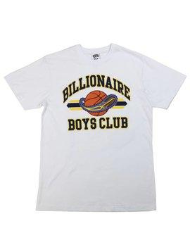 BILLIONAIRE BOYS CLUB BB ROCKET BALL SS TEE WHT
