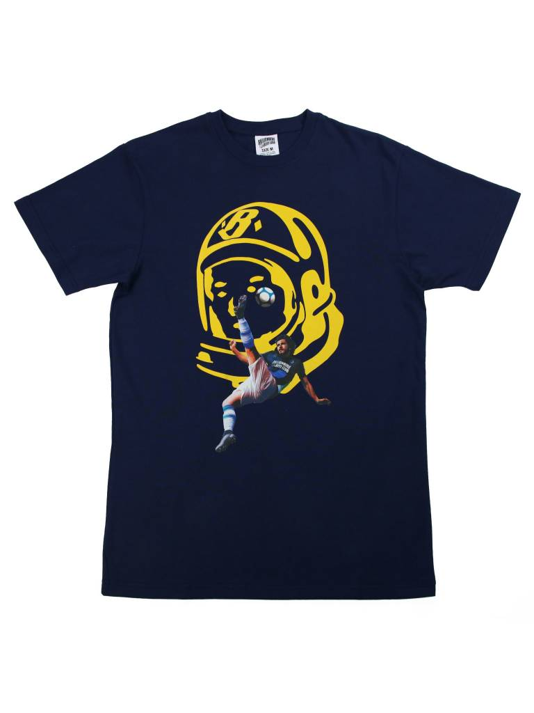 BILLIONAIRE BOYS CLUB BB BICYCLE KICK SS TEE BLUE