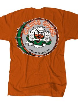 THE EDITION CANES GANG TEE ORANGE