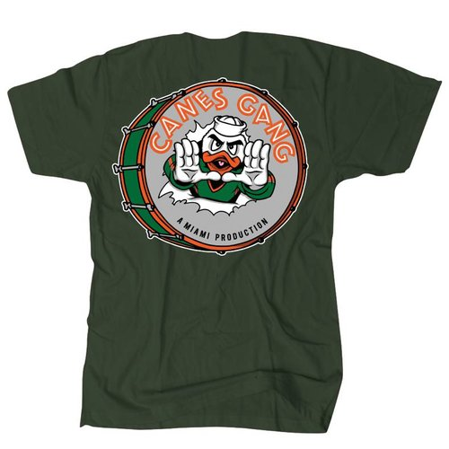THE EDITION CANES GANG TEE GREEN