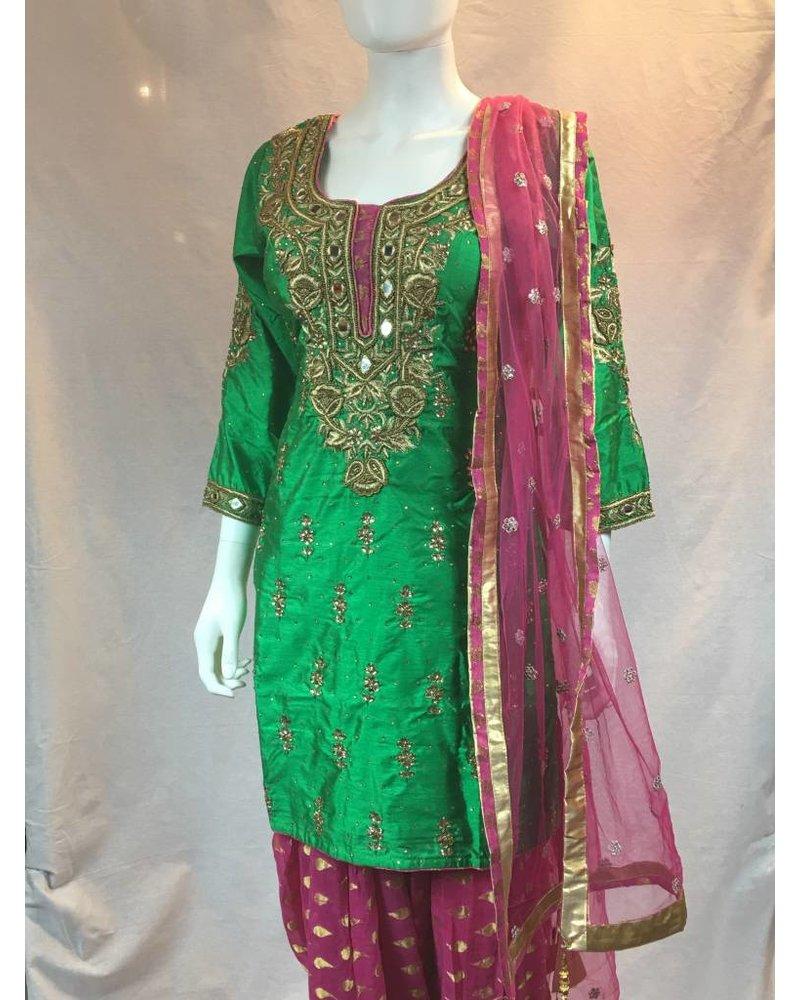 Party Suit w/ Patalia Salwar