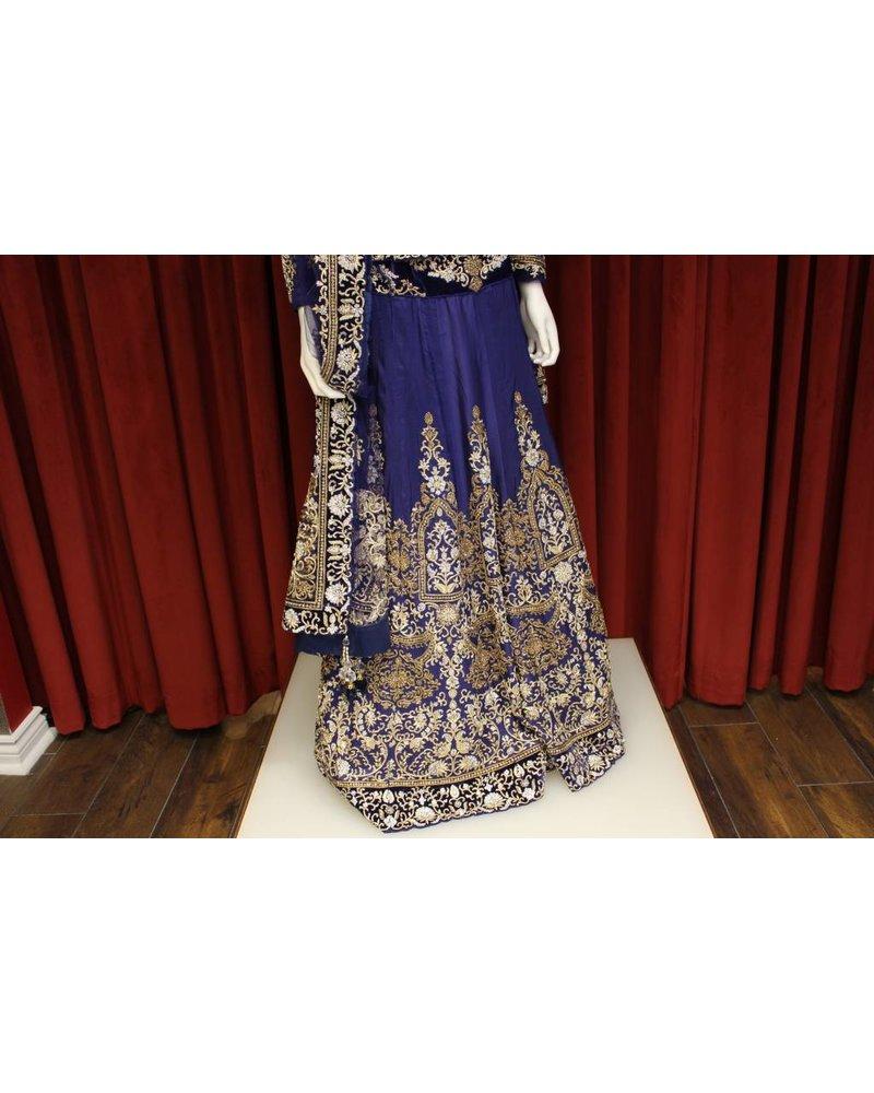 Bridal Blue Lehenga