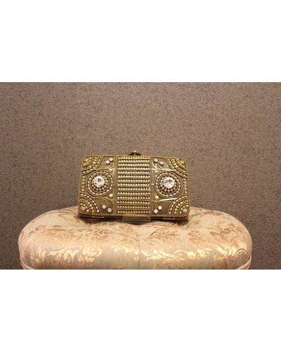 Gold Purse w/ Jewels