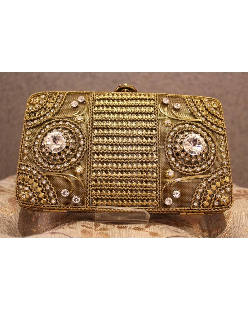 Gold Purse with Jewels