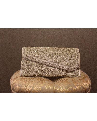 Silver Purse w/ jewels