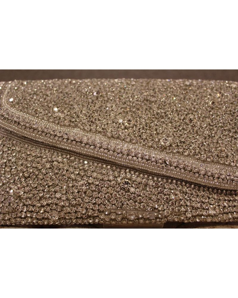 Silver Purse with jewels