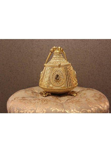 Gold Purse w/ tassels