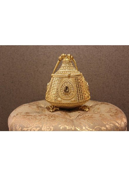 Gold Purse with tassels