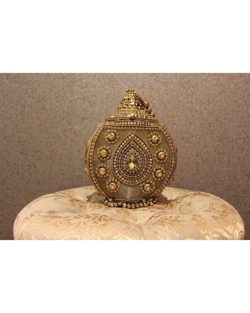 Gold Purse w/ Jewels