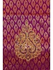 Bridal Purple and Gold Saree