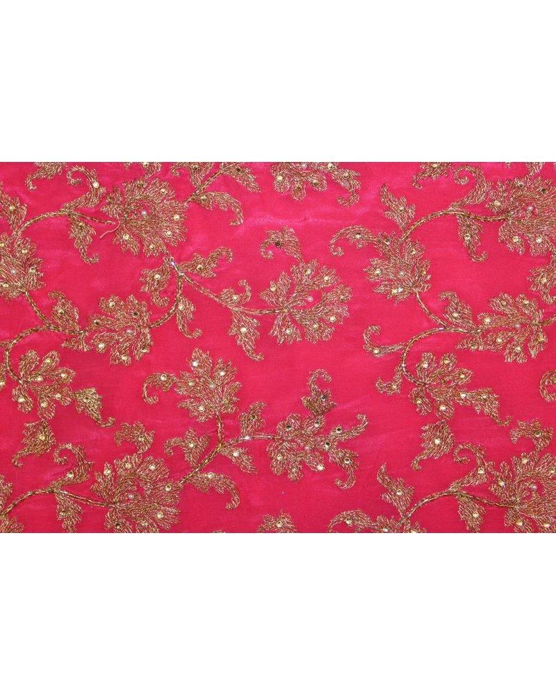 Bridal Pink Saree