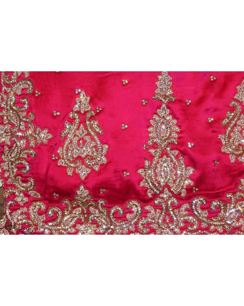 Bridal Pink Saree