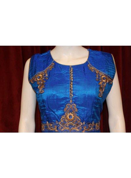 Party Wear Blue Anarkali