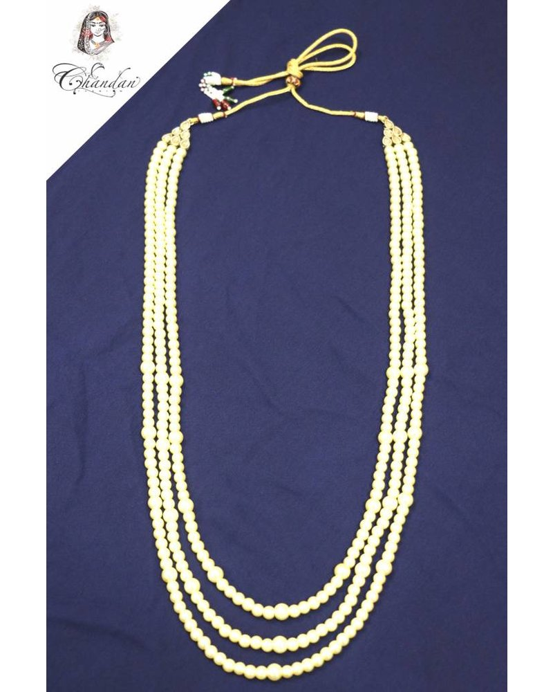 3 Layered Pearl Necklace