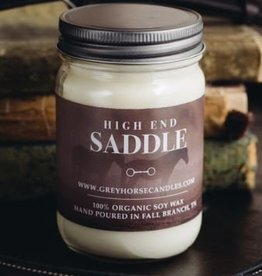 Grey Horse Candle Company Grey Horse Candle Co. - High End Saddle Candle